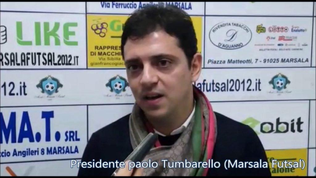 Presidente Paolo Tumbarello (Marsala Futsal)