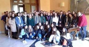 STUDENTI ERASMUS A PALAZZO MUNICIPALE DI MARSALA