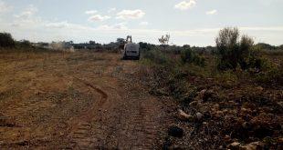 Petrosino, iniziati i lavori per completamento recinzione del cimitero comunale