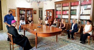 ARCIDIOCESI DI PALERMO: L'ARCIVESCOVO DI PALERMO MONS. CORRADO LOREFICE INCONTRA UNA DELEGAZIONE DI DIPENDENTI