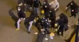 Coronavirus: scontri a Palermo tra manifestanti e Polizia