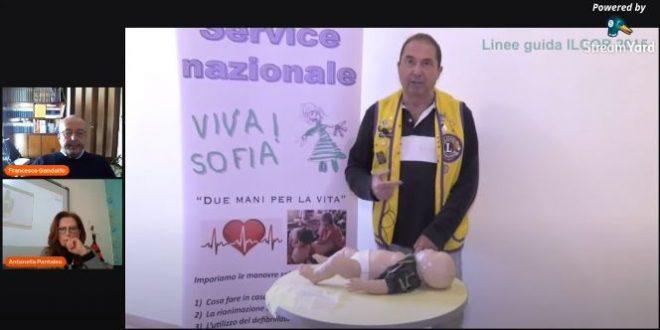"""Il Lions Club Marsala parla ai giovani del """"PROGETTO VIVA SOFIA"""""""