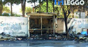 Marsala. Un incendio distrugge il chiosco di Sappusi