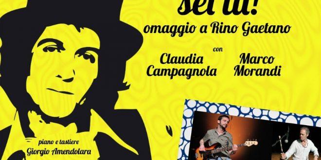 """Marsala, """"Chi mi manca sei tu"""": domenica 1 agosto a San Pietro Marco Morandi in uno spettacolo omaggio a Rino Gaetano"""